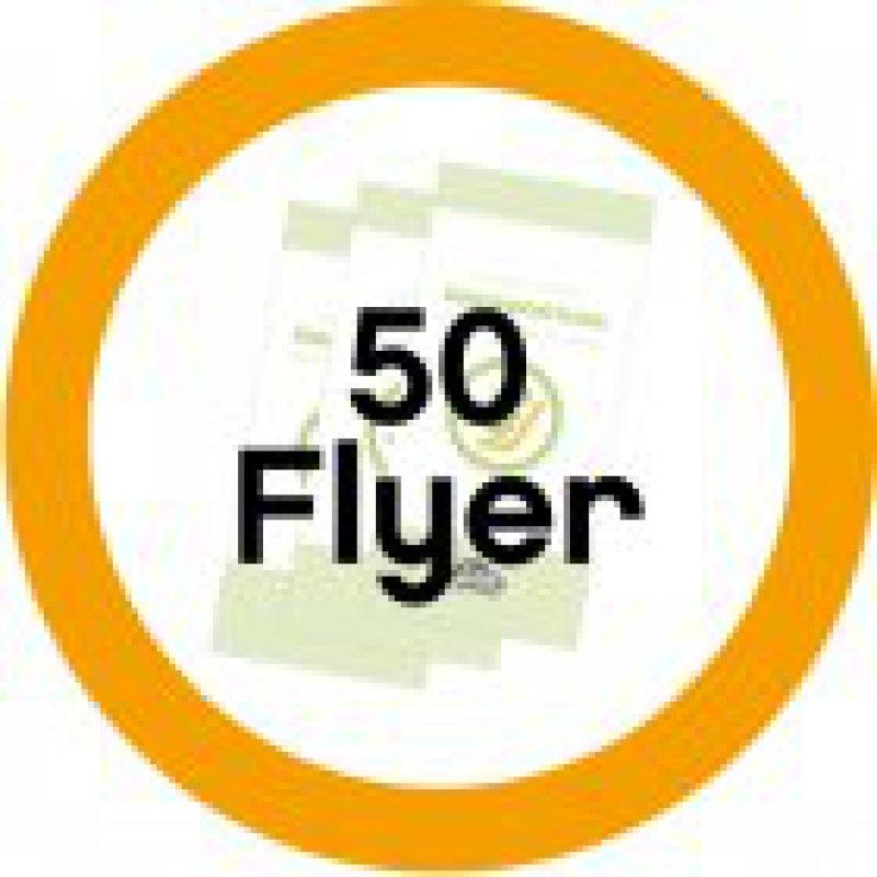 50 Informationsflyer Reboard-Kindersitze