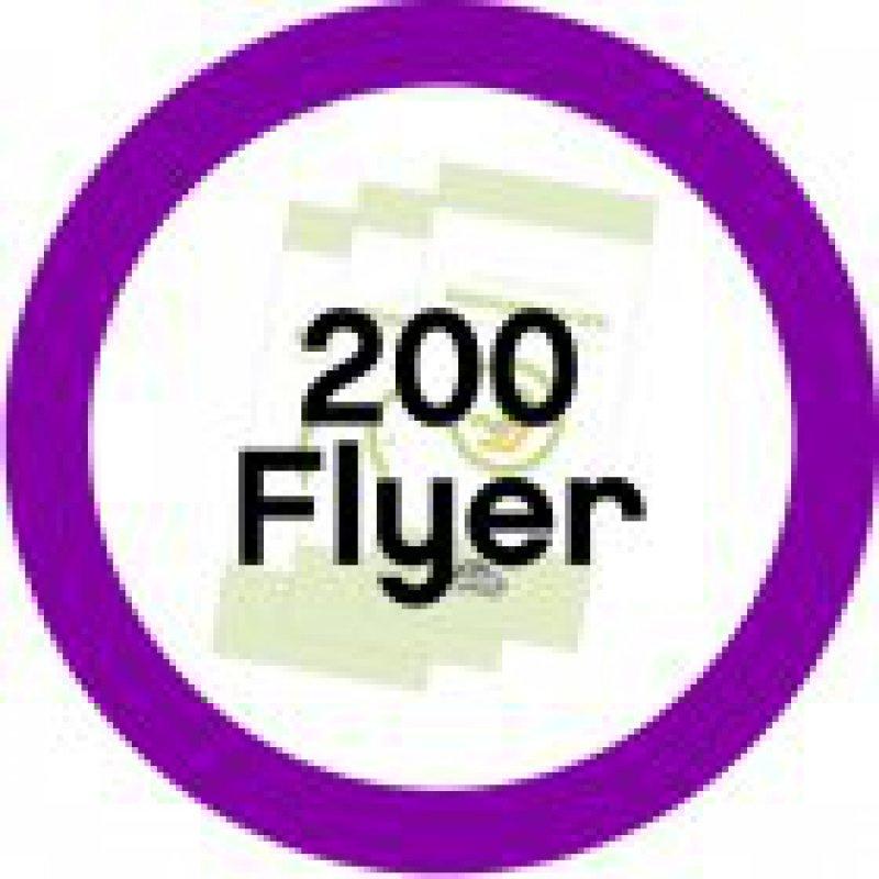 200 Informationsflyer Reboard-Kindersitze